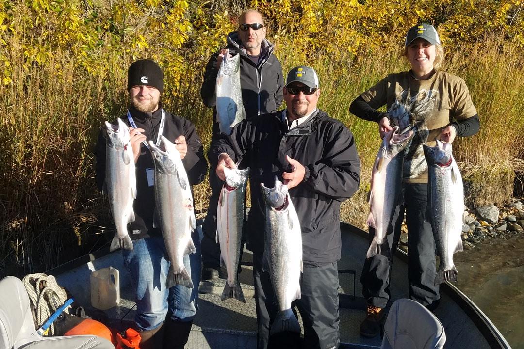Alaska Lodge Fishing Trip