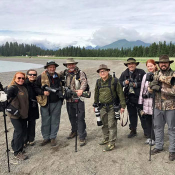 Alaska Bear Viewing Photo Group Beach
