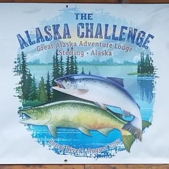 Alaska Groups Welcome Sign Alaska Challenge