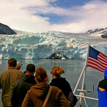 Kenai Fjords Holgate Glacier