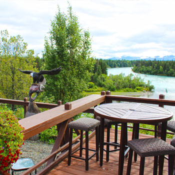Accommodations and Cabins Bistro Deck