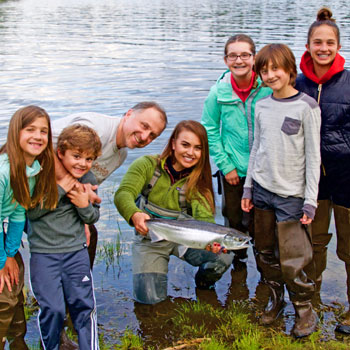 Alaska Family fishing adventure