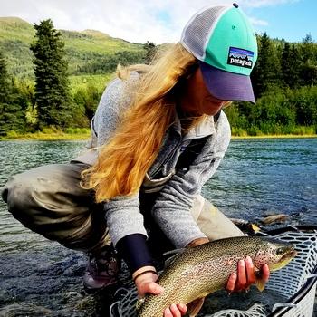 Alaska Fishin Kenai Dolly Girl
