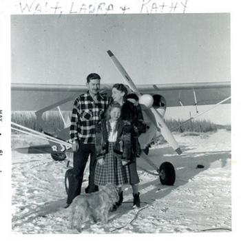 Alaska Homestead the Pedersens Plane