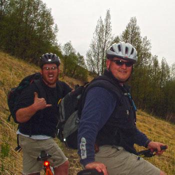 Alaska Mountain Biking Fired up