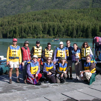 Alaska Nature Trips Groups Paddling