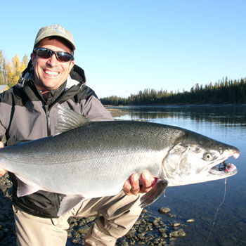 Salmon, Trout, Halibut & 1 or 2 Fly outs