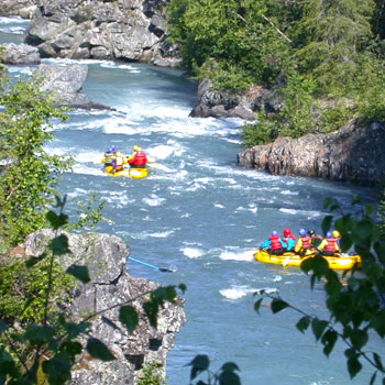Alaska Whitewater 2rafts