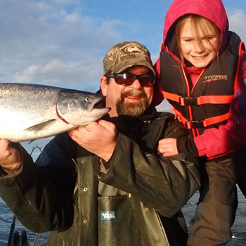 Alaska Guide Child With Silver