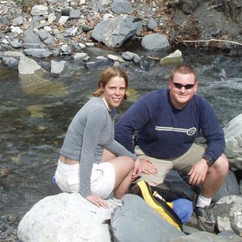 Chugach Mountain Hiking Couple Creek