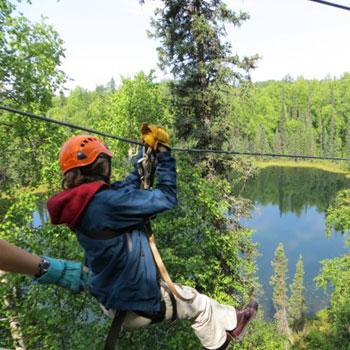 Kenai Multi Sport Ziplining Chugach Forest